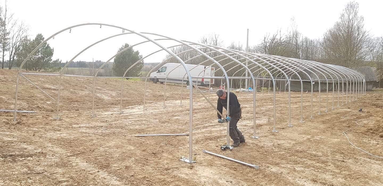 greenhouse frame storex