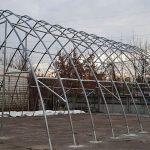 STOREX tent hangar ALASKA