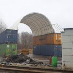 Container shelter STOREX